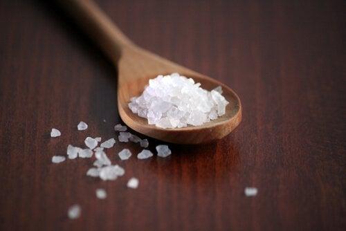 Salt i store mengder