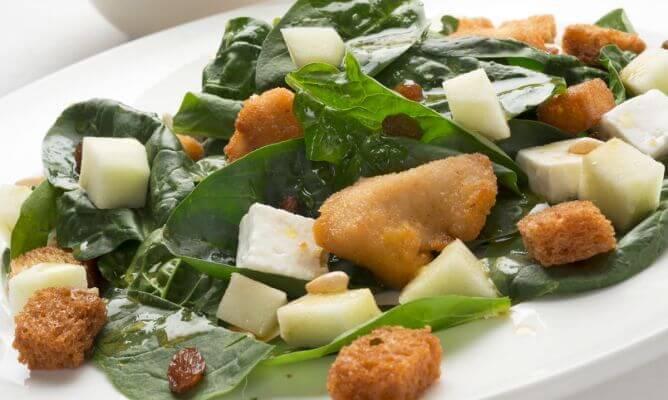 3-spinatsalat