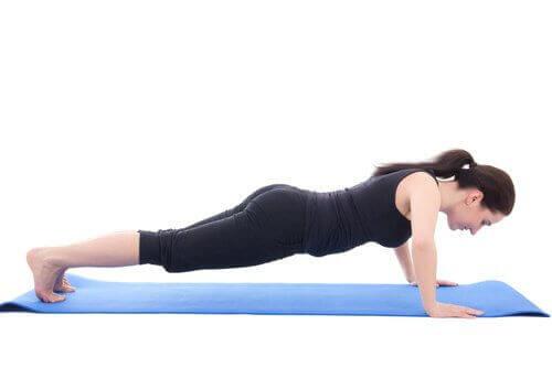 Hvordan å gjøre pushups?