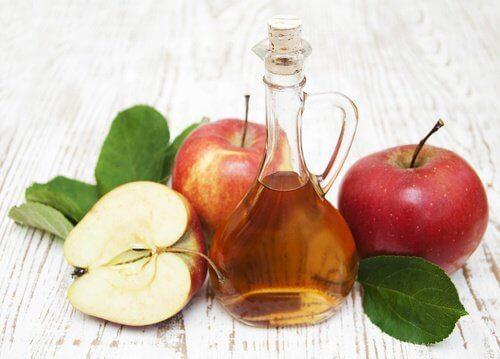 Detox-diett med eplesidereddik