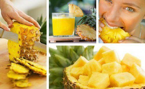 Ananasrensen som hjelper kroppen