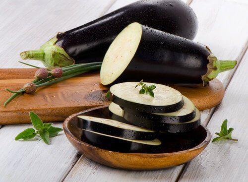 Overraskende medisinsk vann av auberginer