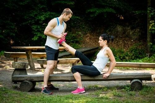 strekking hjelper mot muskelkramper
