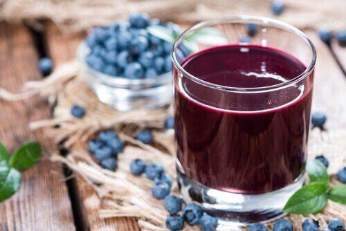 4-blåbærjuice