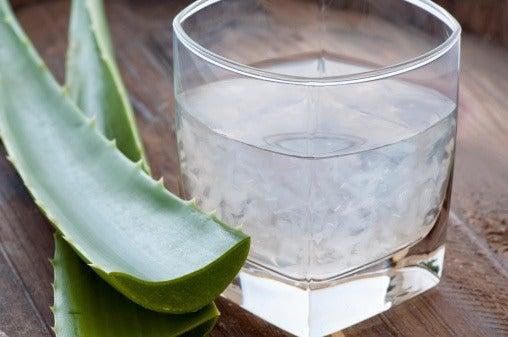 Juice av aloe vera medsitron