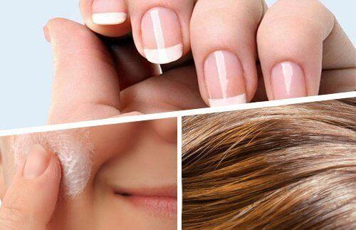 Oppnå bedre hår, hud og negler innenfra