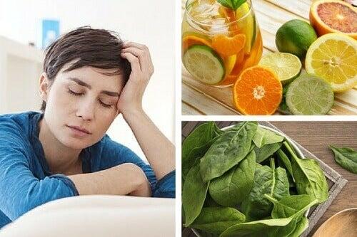 Mangel på vitaminer som kan føre til trøtthet