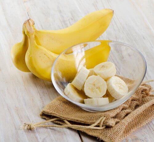 Bananer inneholder mengder med kalium og magnesium