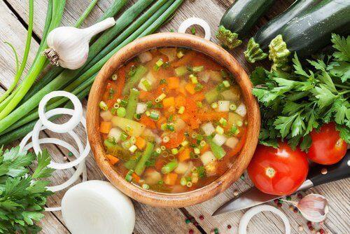 2-grønnsakssuppe