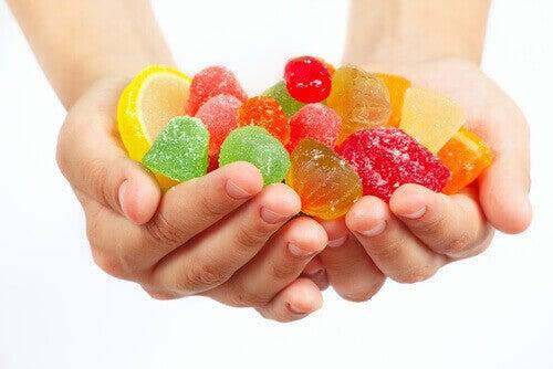 2-sukker-godteri
