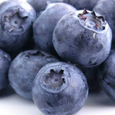 matvarer for nyrene - blåbær