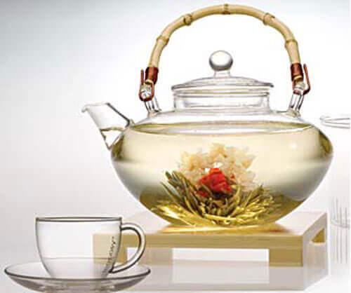 Hvit te og myntete