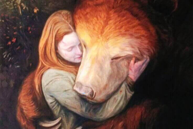 kvinne-bjørn