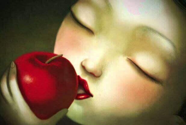 Ikke ta en bit av det forgiftede eplet som er likegyldig kjærlighet