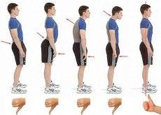 6 teknikker for bedre holdning