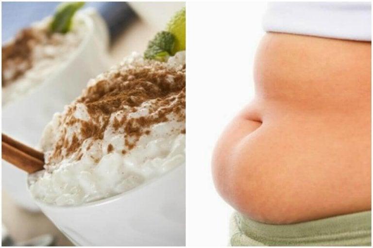 Du kan spise risgrøt og gå ned i vekt