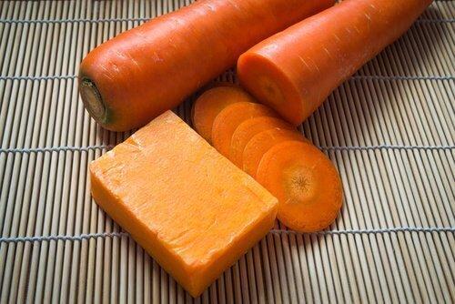 ost og gulrot