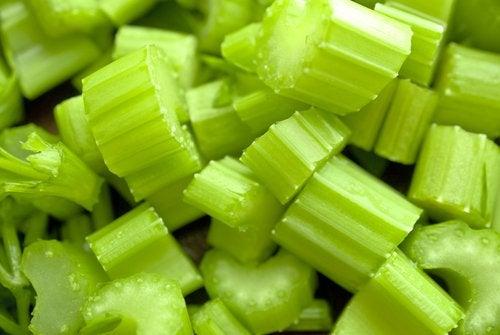 Selleri er en allsidig grønnsak