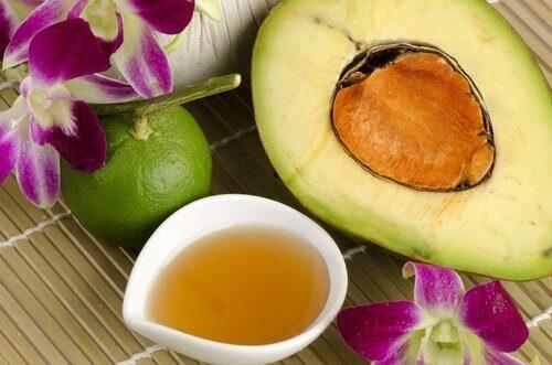 avokado-honning-krem