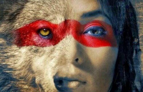 kvinne-ulv