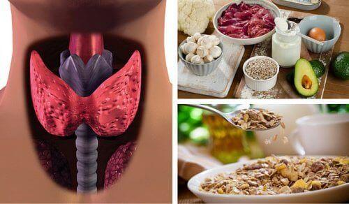 Bekjemp hypotyreose med matvarer som setter fart på stoffskiftet