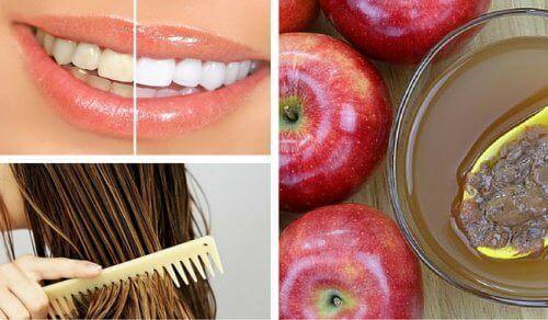 8 kosmetiske bruksområder for eplecidereddik