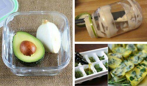 14 utmerkede matlagingstips for å unngå å kaste mat