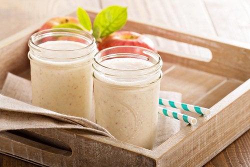 3-smoothie-med-eple