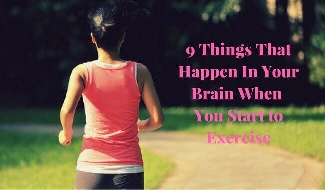 9 ting som skjer i hjernen din når du trener