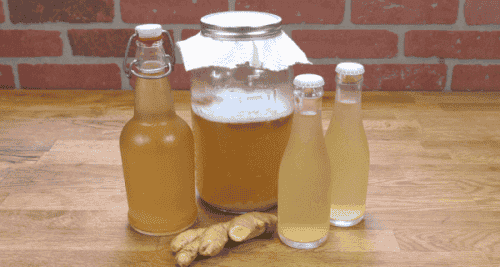 Ingefærvann for å lette migrene, fordøyelsesubehag og smerter