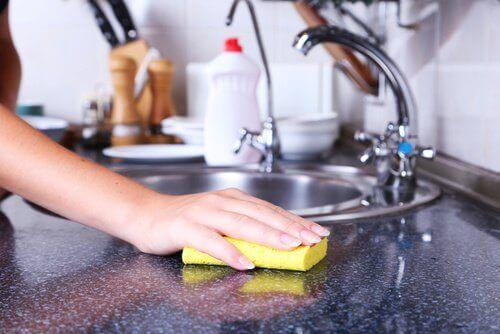 De skjulte farene i kjøkkensvamper