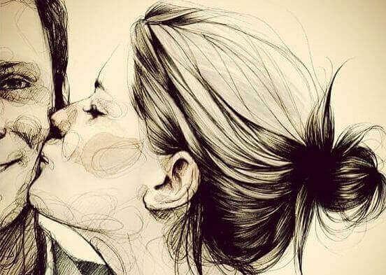 kvinne-kysser-mann