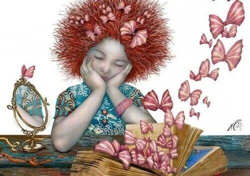liten-jente-sommerfugler