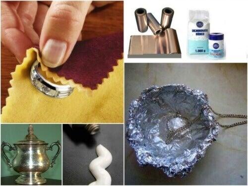 7 triks for å rense sølv hjemme
