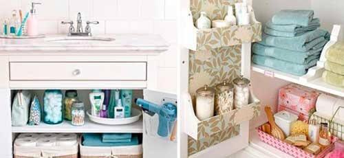 13 triks for å holde badet ditt rent og ryddig