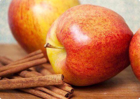 Epler og kanel
