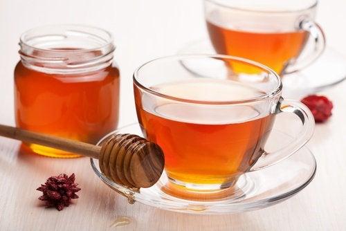 4-honning-te