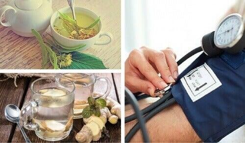 6 naturlige remedier for å lindre lavt blodtrykk