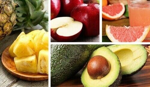 8 frukter som har fordeler for kroppen vår