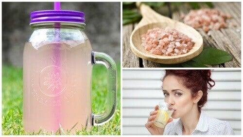 Alkalisk vann for å gå ned i vekt og forhindre utmattelse