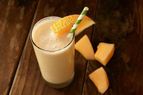 cantaloupe-ananas-smoothie