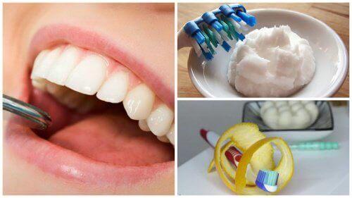 5 remedier for å fjerne plakk fra tennene