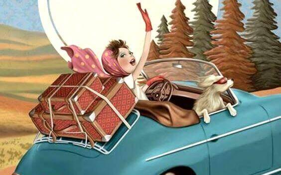kvinne-i-bil