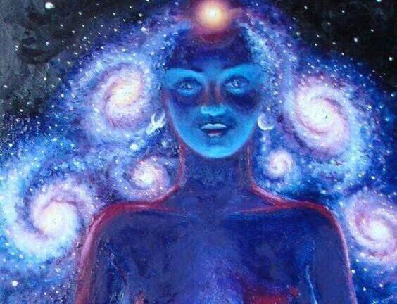 Spirituell kvinne