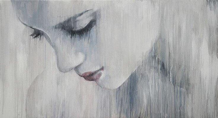 trist-kvinne