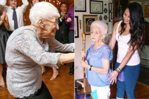 Hvordan yoga endret holdningen og livet til en kvinne på 87 år