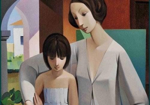 Det intime og følelsesmessige båndet mellom mor og datter