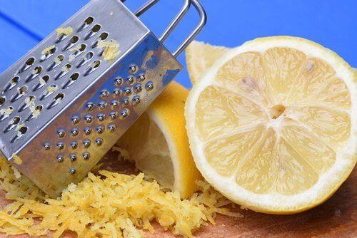 9 uventede bruksområder for sitronskall