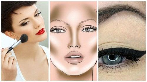 5 enkle sminketriks for å få ansiktet til å se slankere ut