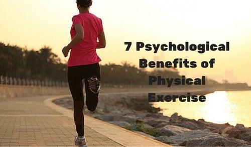 7 psykiske fordeler ved fysisk trening
